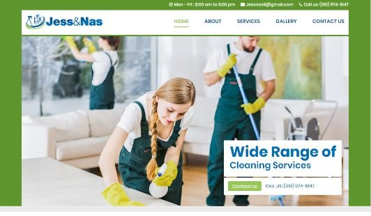 Jess and Nas Cleaning
