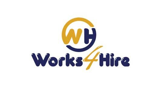 Works 4 Hire – Logo