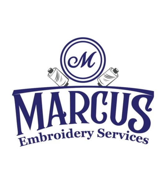 Marcus Embroidery – Logo